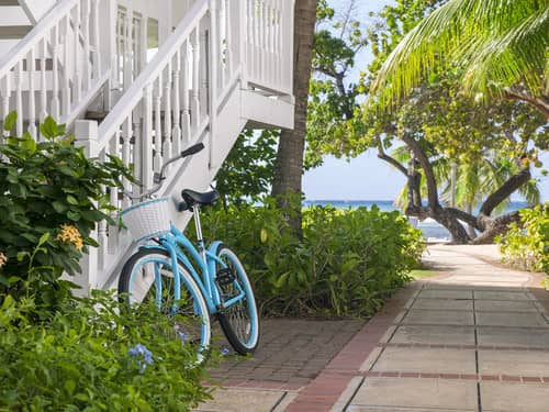 With 400 acres and two miles of beachfront, bicycles are essential #HalfMoon65